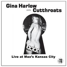 Gina Harlow - Live At Max's Kansas City