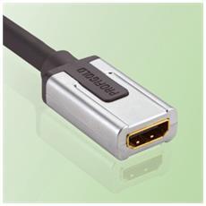 PROD1300 HDMI-A FM DVI-D M Nero, Argento cavo di interfaccia e adattatore