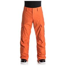 Pantalone Uomo Porter Ins Arancio Xl