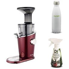 Estrattore Di Succo Verticale H-100 - Rosso + Detergente Mini + Bottiglia Termica Incluso Nel Prezzo