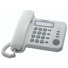 KX-TS520EX1W Telefono Fisso a Filo - Bianco