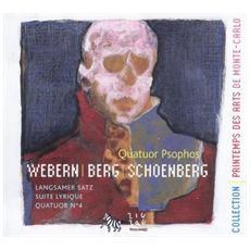 Von Webern, anton / berg, alban / sc - Quartetti Per Archi