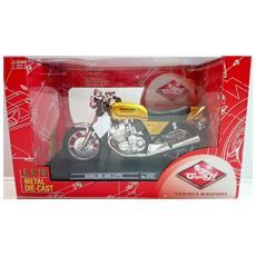 Modellino Moto Honda - Honda Cbx - 1000 1979 - Gialla - Scala 1:10