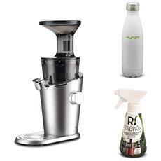 Estrattore Di Succo Verticale H-100 - Silver + Detergente Mini + Bottiglia Termica Incluso Nel Prezzo