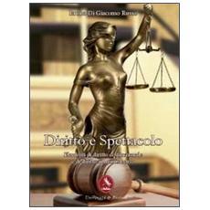 Diritto e spettacolo. Elementi di diritto costituzionale e di diritto amministrativo