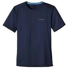 T-shirt Fore Runner Sleeved Uomo Blu L