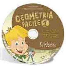 Geometria facile. CD-ROM. Vol. 1: Localizzazioni, spostamenti, piani di riferimento, rette e angoli.