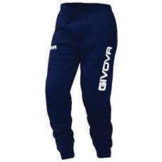 Panta Cotone Mod. Moon Pantalone Givova Colore Blu Taglia L