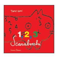 1, 2, 3 scarabocchi
