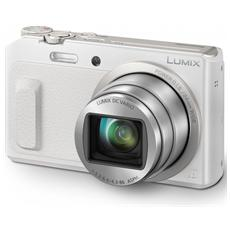 Lumix DMC-TZ57 Bianco Sensore MOS 16Mpx Zoom Ottico 20x Display 3' Filmati Full HD Stabilizzato Wi-Fi