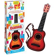 Chitarra Plastica 6 Corde Cm52