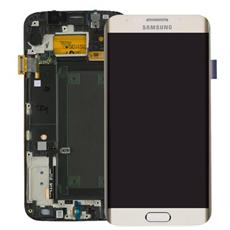 Display schermo LCD touch Samsung Galaxy s6 edge sm-g925f bianco service pack