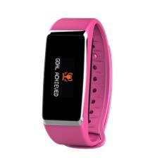 ZeFit2 Pulse Bluetooth Touchscreen IP67 colore Rosa per Android, IOS e Windows
