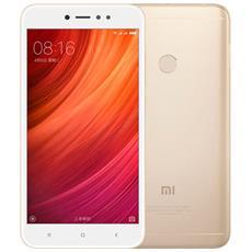 """Redmi Note 5A Oro 16 GB 4G / LTE Dual Sim Display 5.5"""" HD Slot Micro SD Fotocamera 13 Mpx Android Europa"""