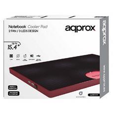 appNBC05R, 2.0, 5V DC, Nero, Rosso, 360 x 270 x 25 mm, 410g, Metallo, Plastica