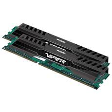 Memoria Dimm Viper 3 Black Mamba 8 GB (2 x 4GB) DDR3 2133 MHz CL11 Dissipatore Nero