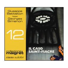 Il caso Saint-Fiacre letto da Giuseppe Battiston. Audiolibro. CD Audio formato MP3