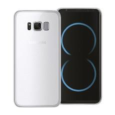 Cover gel protection+ white samsung galaxy s8