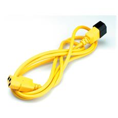 Monitor Power Cable, yellow 1.8 m