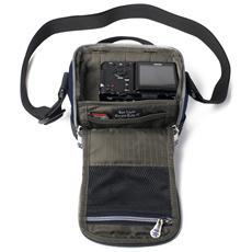 BLCC-XS-002, Borsa da spalla, Universale, Blu, Neoprene, Nylon, 120 x 75 x 110 mm