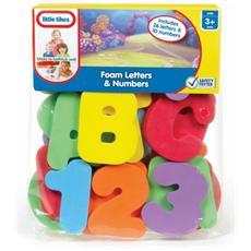Bath Letters and Numbers, Ragazzo / Ragazza, Multicolore, Plastica, CE, Sacchetto di politene
