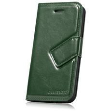 81981 Custodia a libro Verde custodia per cellulare