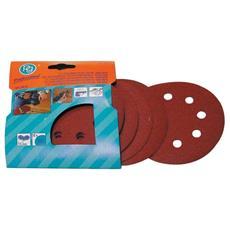 Dischi Abrasivi su Velcro Poggi art. 349.35 Ø 115 mm Grana 80 cf. Pz10