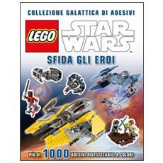 Star Wars Lego. Sfida gli eroi. Collezione galattica di adesivi