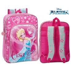 4252451 Zaino Scuola E Tempo Libero Elsa (Frozen) Disney 33 X 42 X 20 Cm