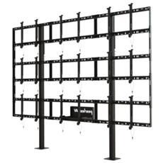 """DS-S555-3X3 55"""" Fisso Nero base da pavimento per tv a schermo piatto"""