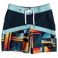 Quik Boy's Boardshort Check Bambino Tg. Anni 8a