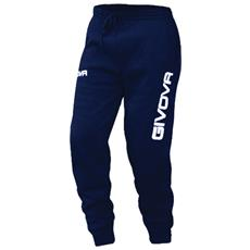 Panta Cotone Mod. Moon Pantalone Givova Colore Blu Taglia Xs
