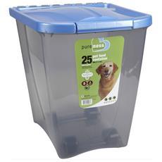 Contenitore Per Cibo Per Animali Con Ruote (22kg) (assortito)