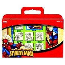 Valigetta 7 Timbri Spiderman