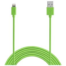 Apple Lightning cable 1,2m MFI - Green