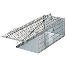 Trappola a galleria per topi e ratti in acciaio
