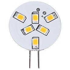 I-LED-G4-10WR - Lampada 6 LED SMD G4 1W 90 Lumen Bianco Caldo A++