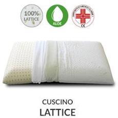 Cuscino Lattice Con Tessuto Aloe Vera42x72