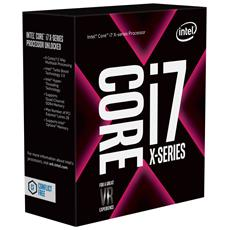 Processore Core i7-7820X (Skylake-X) Octa-Core 3.6 GHz Socket LGA 2066 Boxato Moltiplicatore Sbloccato (Dissipatore Escluso)