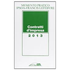 Memento contratti d'impresa 2013