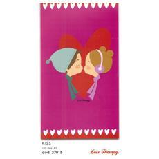 Telo Mare in spugna love Teraphy Kiss Cotone