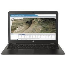 """Ultrabook ZBook 15u G3 Monitor 15.6"""" FHD Intel Core i7-6500U 2.5 GHz Ram 8GB SSD 256GB AMD FirePro W4190M 2GB 3xUSB 3.0 Windows 10 Pro"""