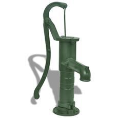 Pompa D'acqua Manuale Da Giardino In Ghisa