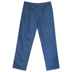 Pantaloni Serie 100 In Cotone Colore Blu Taglia 2xl