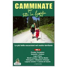 Camminate per tutta la famiglia. Vol. 3: Prealpi Trevigiane, Dolomiti, Cadore, Lago d'Iseo, Monti Lessini, Monte Baldo, Valsugana. . . .