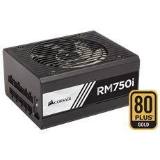 Alimentatore 750 Watt Serie RMi Modulare ATX 12V v2.4 Certificazione 80 Plus Gold