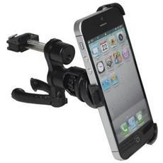 Supporto Auto Con Connettore Plus Per Prese D'aria Con Snodo Per Apple Iphone 5 - 5s