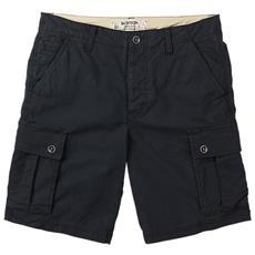 Shorts Cargo Uomo 34 Nero