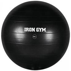 Palla Fitness 65 Cm Gomma Nera Irg029