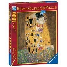 RAVENSBURGER - Puzzle Arte Klimt Il Bacio 1000 pz 50 x 70 cm 15743